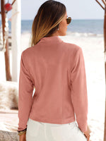 Soft Flowy Short Jacket