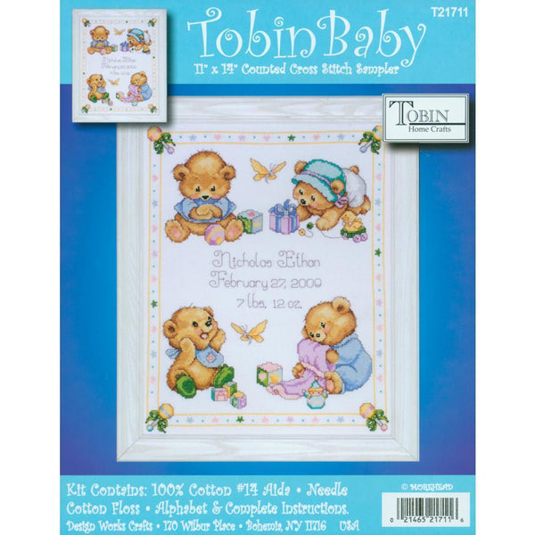 Tobin Counted Cross Stitch Kit 11