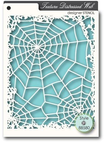 Memory Box Die Distressed Web