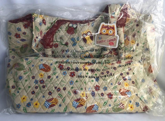 Sew Easy Maxi Craft Quilted Owl Bag