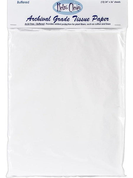 Retro Clean Archival Grade Tissue Paper - Buffered 24