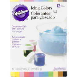 Wilton Icing Colors, Gel-Based Food Color - aplusstorenz