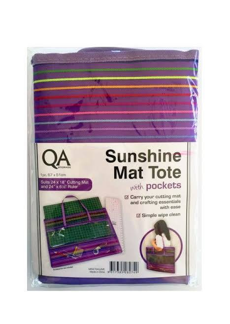 "QA Sunshine Mat Tote Bag (suits 24 x 18"" mat)"