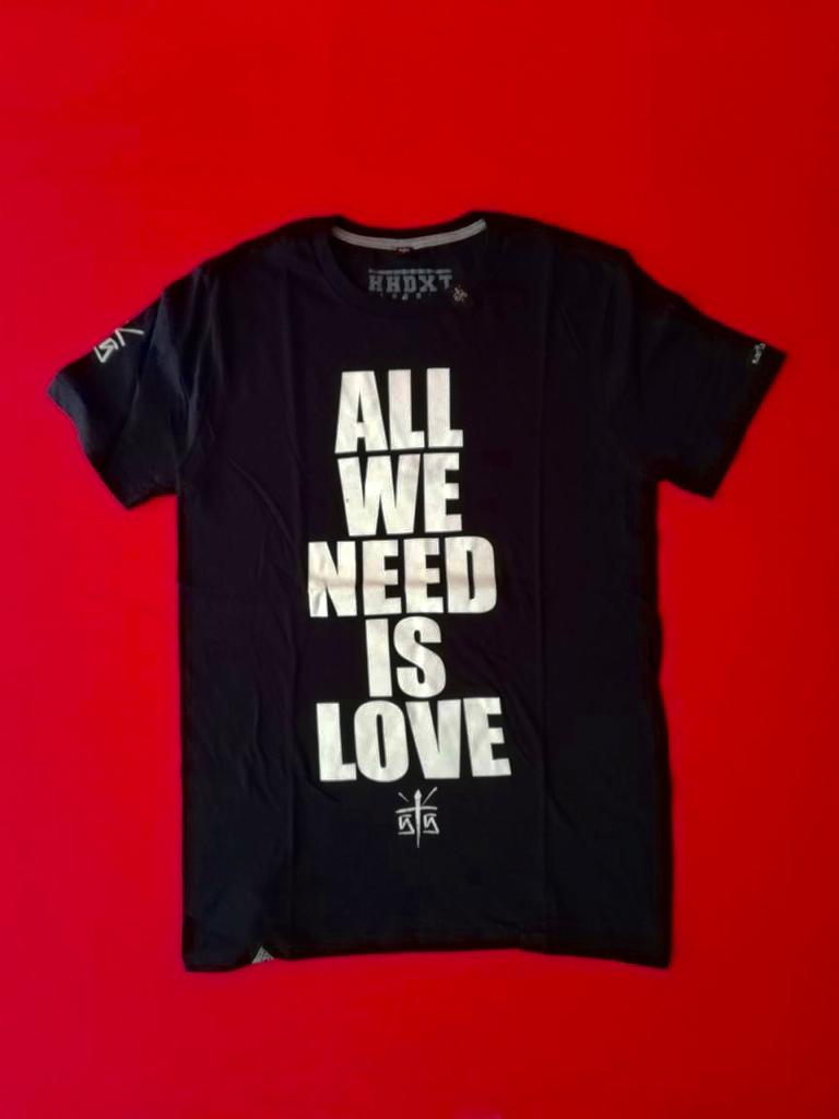 "PLAYERA CANSERBERO ""ALL WE NEED IS LOVE"""
