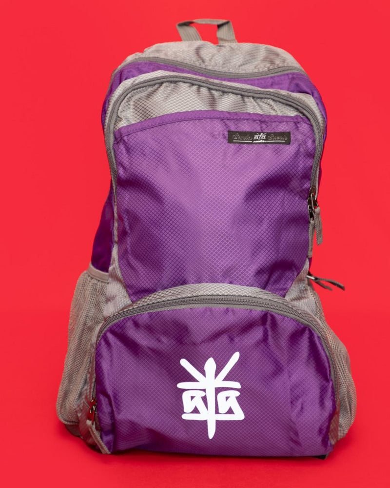 "MOCHILA PLEGABLE ""PURPLE FICTION"""