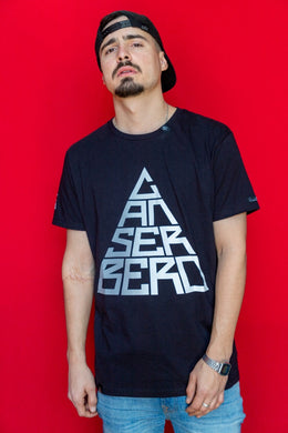 "Playera canserbero ""Triangulo grey"""