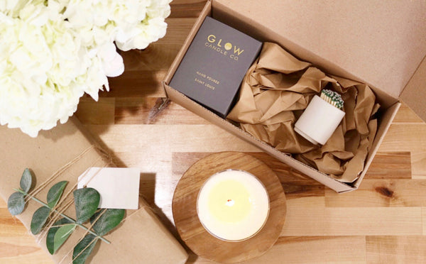 Mothers Day Gift Set - 1 candle + match set (PRE ORDER)