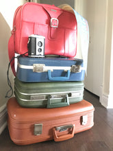 Load image into Gallery viewer, Vintage green Carson suitcase
