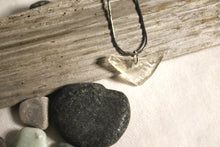 Load image into Gallery viewer, Beach Glass Necklace - Clear CUL