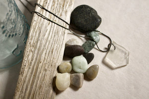 Beach Glass Necklace - A & E