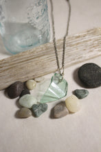 Load image into Gallery viewer, Beach Glass Necklace - Smooth Seas
