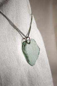 Beach Glass Necklace - Smooth Seas