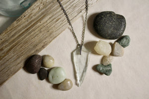Beach Glass Necklace - Classic Clean