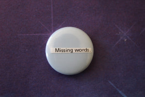 Button - Missing Words