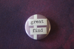 Button - Great find