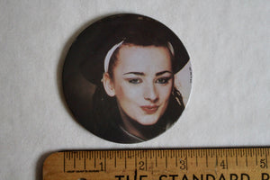 Retro Button - Large Boy George