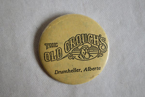 Retro Button - The Old Grouch's