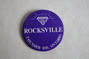 Retro Button - Rocksville