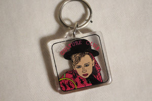 Retro Keychain - Pop Culture Club