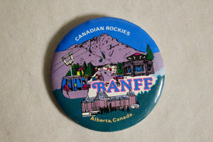 Retro Button - Banff