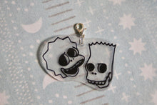 Load image into Gallery viewer, Simpsons Skull Charm