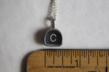 Load image into Gallery viewer, Typewriter Key Necklace C