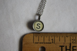 Typewriter Key Necklace S