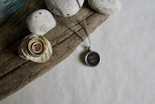 Load image into Gallery viewer, Typewriter Key Necklace Shift