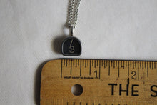 Load image into Gallery viewer, Typewriter Key Necklace #3