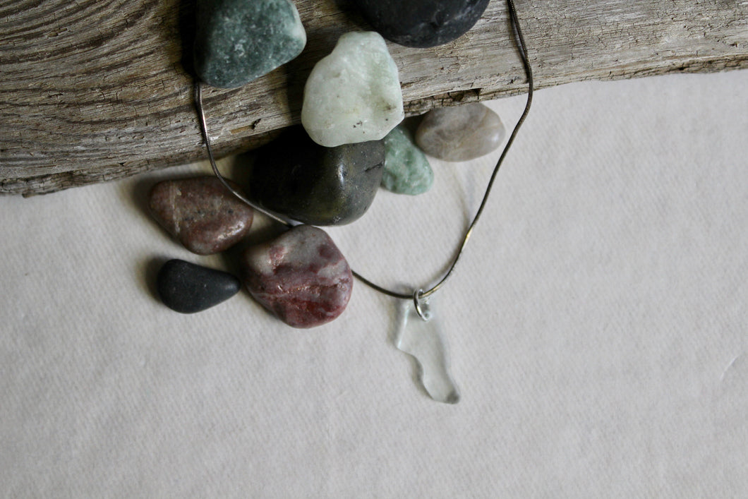 Beach Glass Necklace - Tiny Dancer