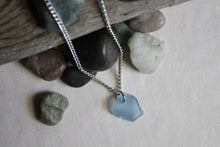 Load image into Gallery viewer, Beach Glass Necklace - Blue Crown