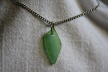 Load image into Gallery viewer, Beach Glass Necklace - Green Eyed Lady