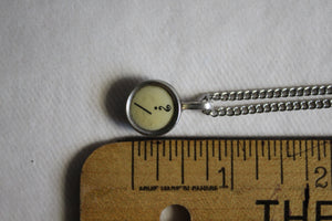 Typewriter Key Necklace Question ?