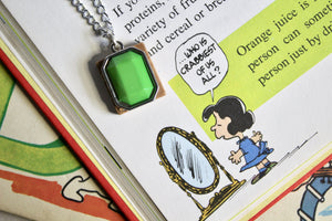 Scrabble Tile Necklace - P