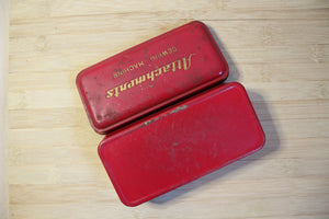 Sewing Attachments Tin