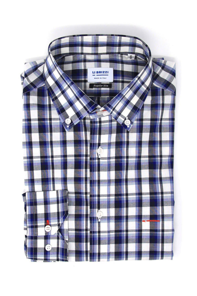 Dallas | Comfortable and Stretch Slim Fit  Men's Casual Button Down Shirt - Li Brizzi Shirt