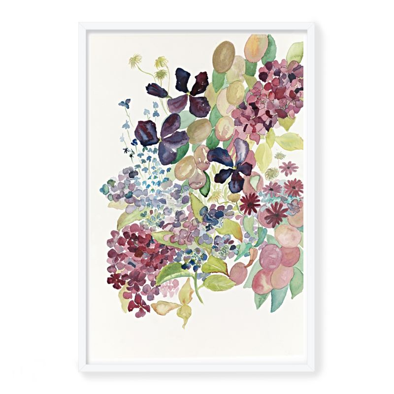 Summer Plum Sunday Print