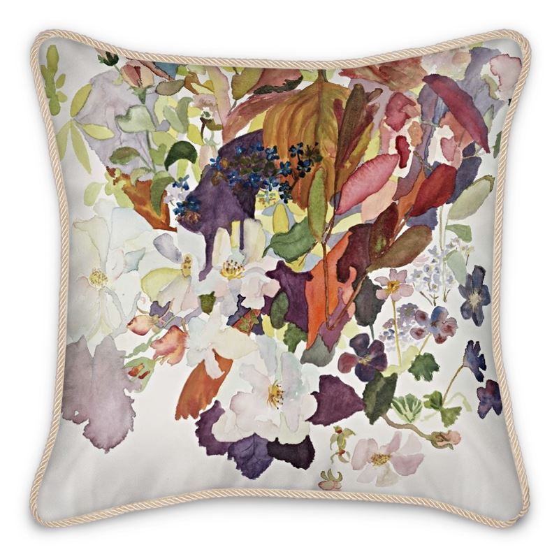 Autumn Silk Cushion