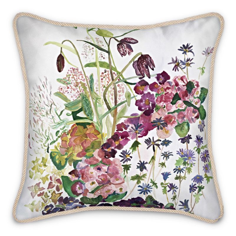 Angels Sing, Silk Cushion