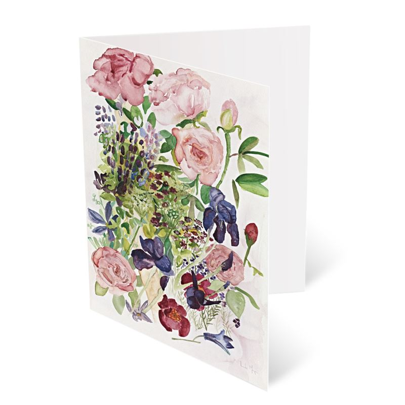 A pack of greeting cards, with eight fine art prints.