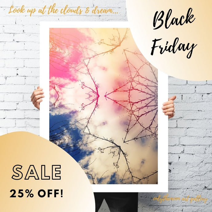 Surprise! 25% Off Black Friday Sale Starts TODAY