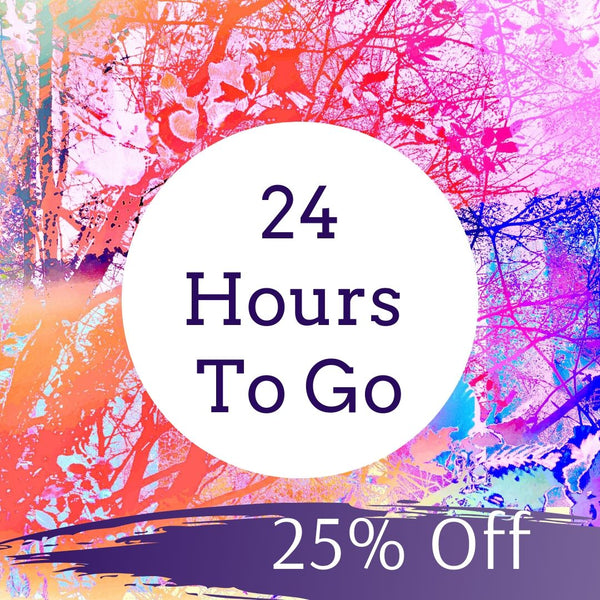 Last Chance! 24 Hours Left of our biggest sale of the year!
