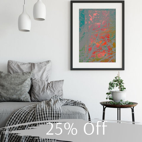 Red Sky at Night, Framed Art Print by Onlythemoon, 25% Off Black Friday Cyber Monday