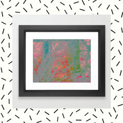 Red Sky At Night Framed Art Print