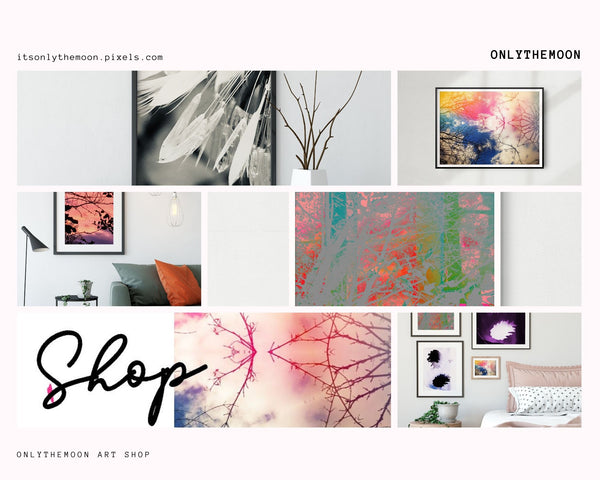 Artworks featured in Onlythemoon's Valentine's Day Art Gift Guide 2020