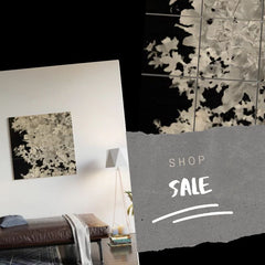 Monochrome Leaves, Wood Wall Art, Shop the Sale