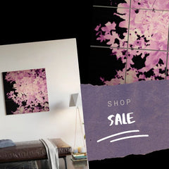 Purple Leaves Wood Wall Art, Shop the Sale