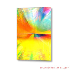Yellow Abstract Landscape: A kaleidoscope of colors, Blog Post