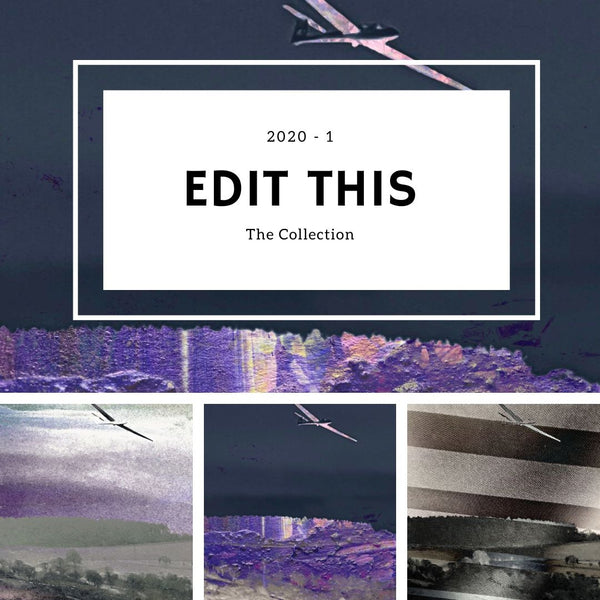 The Collection - Edit This 2020 1 (Plane Landscapes) by Onlythemoon