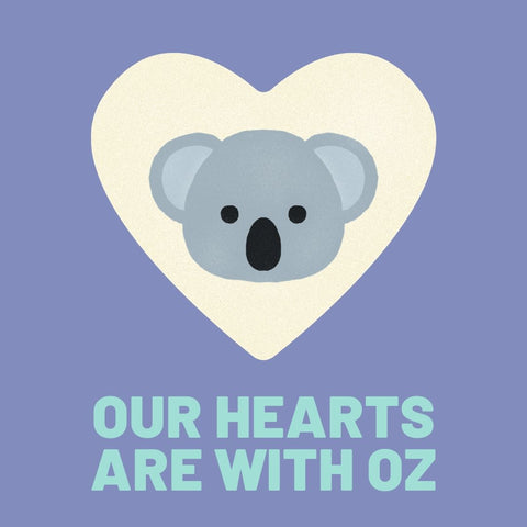 Our Hearts Are With Oz